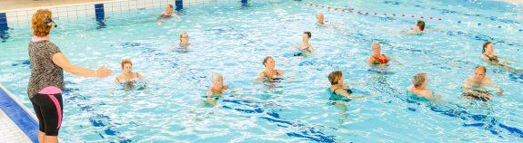 Aquajogging bij Zwembad Wasbeek