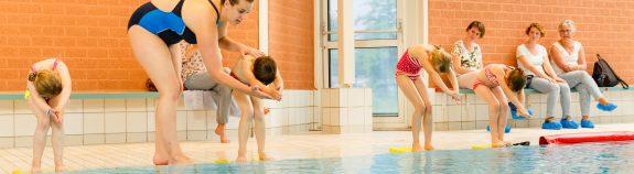 Zwemles voor kinderen bij Zwembad Wasbeek