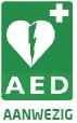 AED aanwezig logo