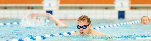 Banenzwemmen bij Zwembad Wasbeek