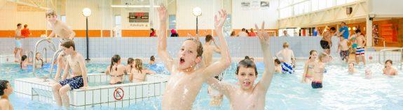 Vier je kinderfeestje bij Zwembad Wasbeek