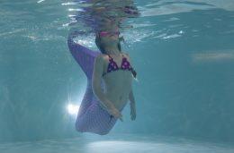 Zeemeerminzwemmen bij Zwembad Wasbeek